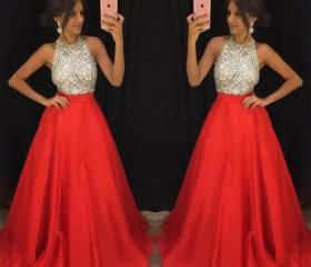 Red Prom Dresses,Bea..