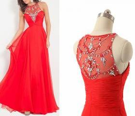 2016 Red Prom Dress,..