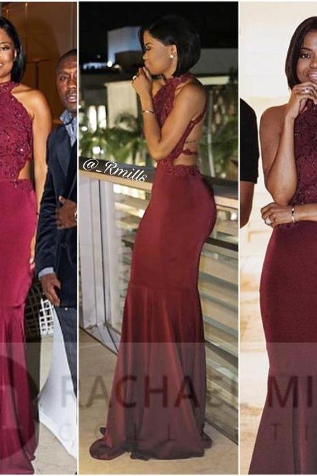 African Prom Dresses,Mermaid Prom Dresses,Burgundy Prom Dresses,Long Prom Dress