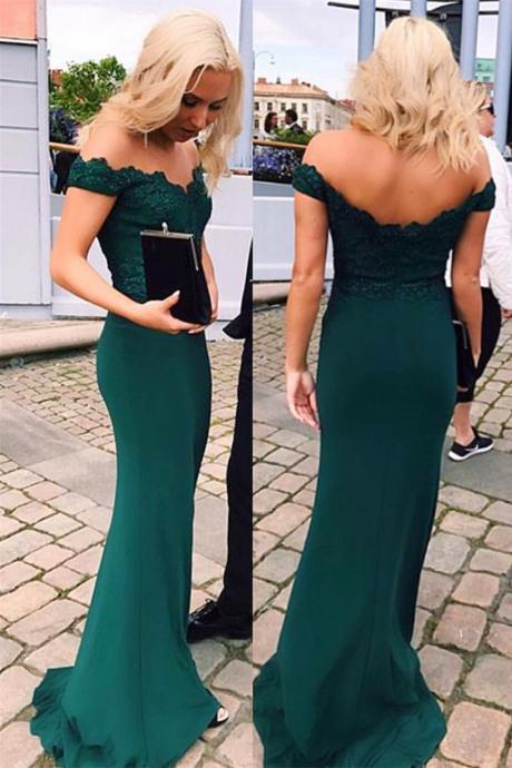 Mermaid Prom Dresses,Off The Shoulder Prom Dress,Evening Gowns,Formal Dress,Banquet Dress,Prom Dress 2019