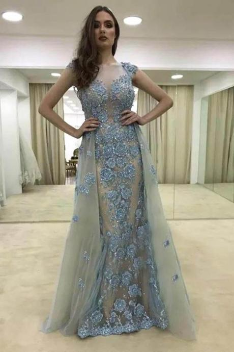 Lace Prom Dress,Mermaid Prom Dress,Evening Gowns,Formal Dress,Banquet Dress