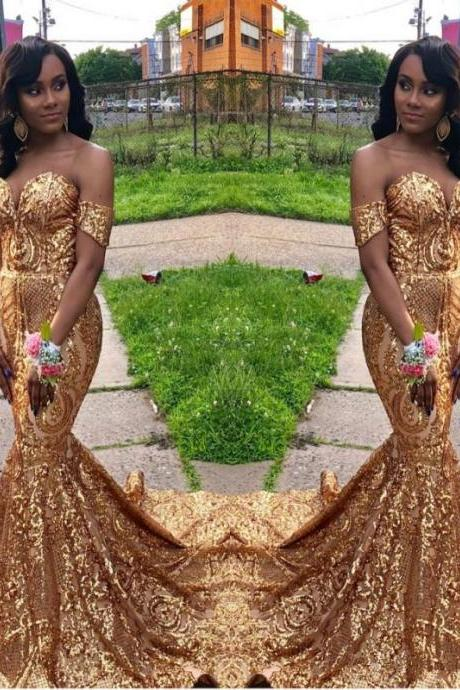 African Prom Dresses,Black Girl Prom Dress,Evening Gowns,Mermaid Prom Dress,Formal Dress,Sweetheart Party Dress